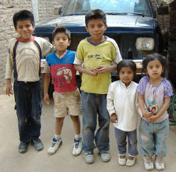 Children in Mexico