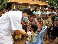 Immunization Clinic Cambodia