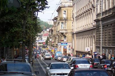 Lviv Traffic