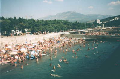 Swimming in Crimea