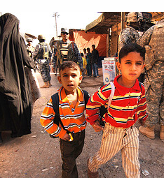 2 boys in Iraq