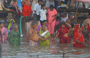 Ganges Bathing