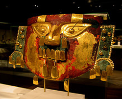 ancient peru mask