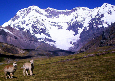 snow mountain peru