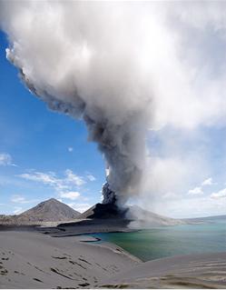 papua volcano