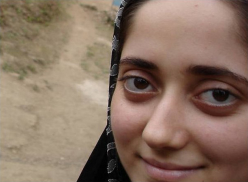 girl in iran