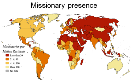 Missions launch helping those who help the world strategy for 10 40 window list of countries