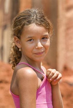 girl in brazil