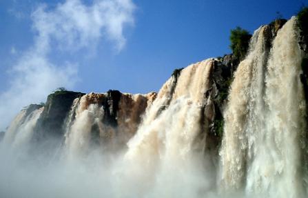 waterfall in Brazil