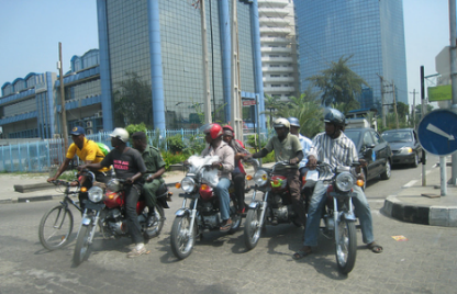 motorcycles in lagos