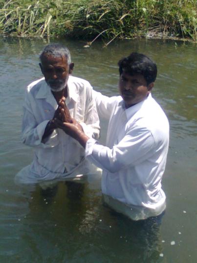 Indian baptism