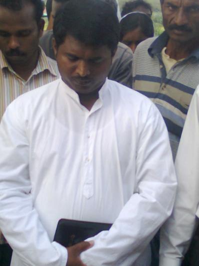 vasanth in prayer