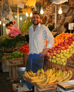 Vendor in Turkey