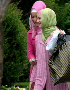 ladies in Istanbul